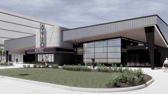 digital rendering of Flatiron District project buildings